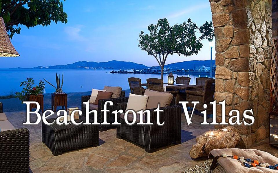 Rhodes Holidays Beachfront Villas