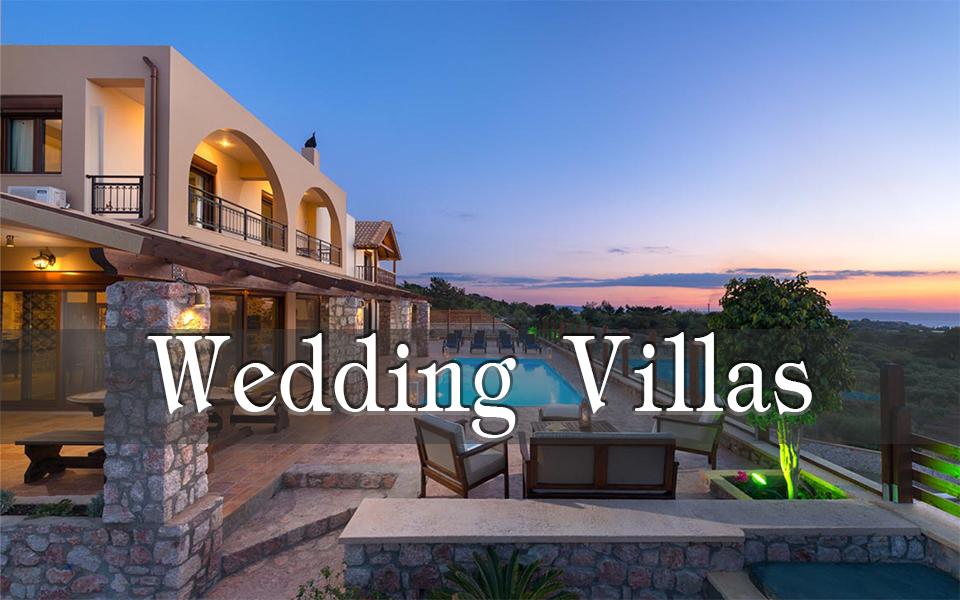 Rhodes Holidays Wedding Villas