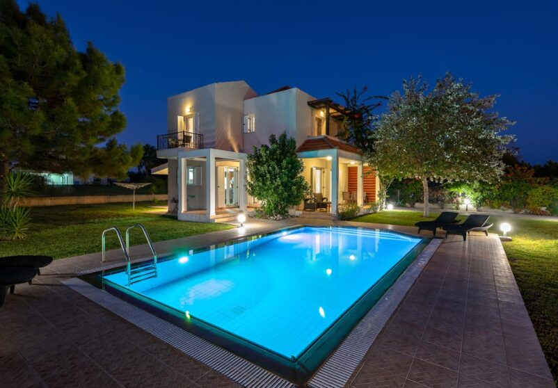 Rhodes Holidays Afrodite Classico Villa 1