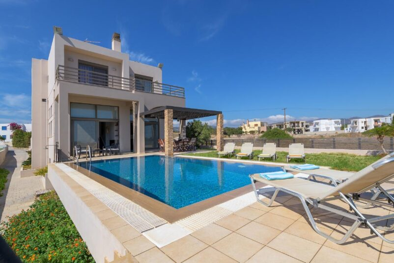 Rhodes Holidays Blue Wave Villa up to 8 Rhodes 1