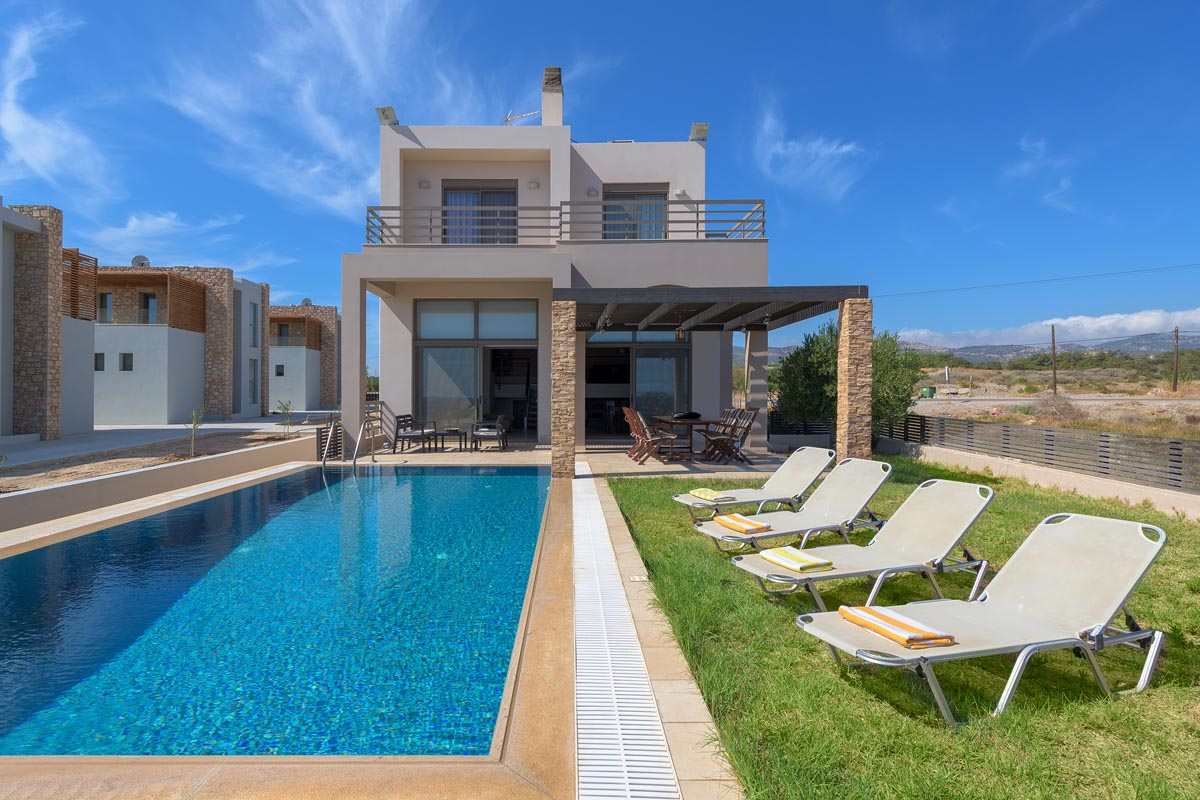 Rhodes Holidays Blue Wave Villa up to 8 Rhodes 2