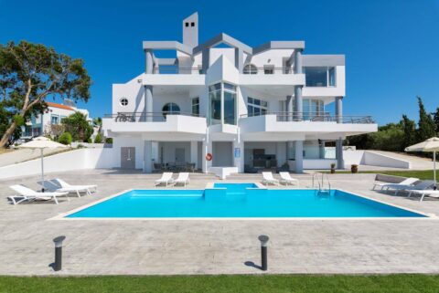 Rhodes Holidays Monte Smith Luxury Villa Rhodes 1