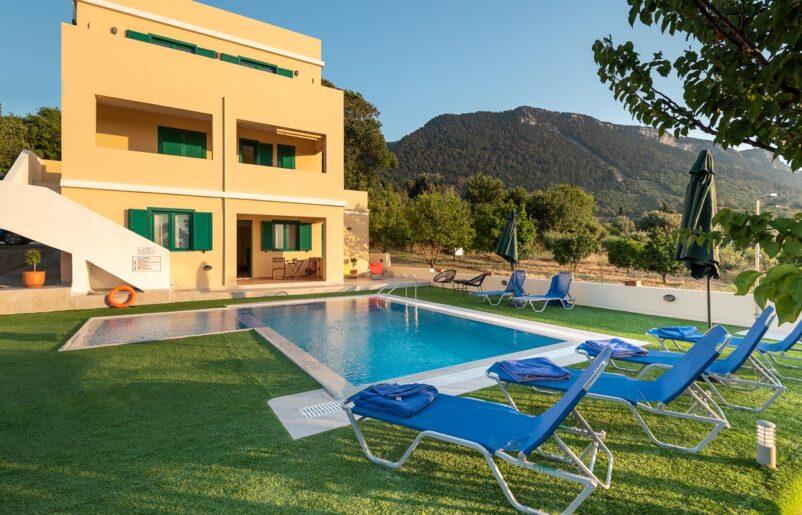 Rhodes Holidays Anemos Villa Rhodes 1