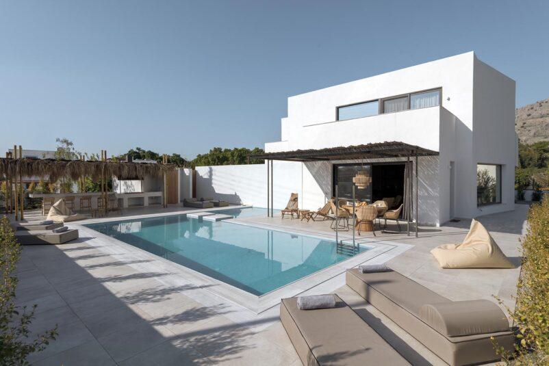 Rhodes Holidays Bianco Boutique Villa Eva Rhodes 1