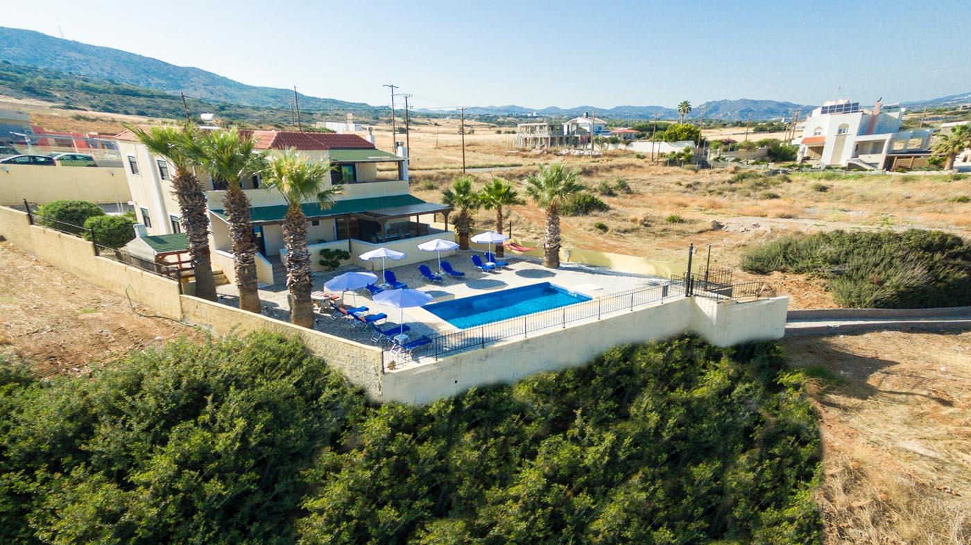 Rhodes Holidays Blue Asteri Villa Rhodes (4)