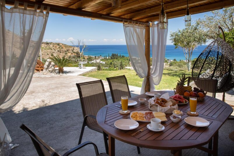 Rhodes Holidays Blue View Stegna House Rhodes 1