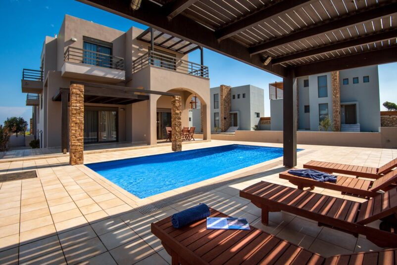 Rhodes Holidays Blue Wave Villa up to 10 Rhodes 1