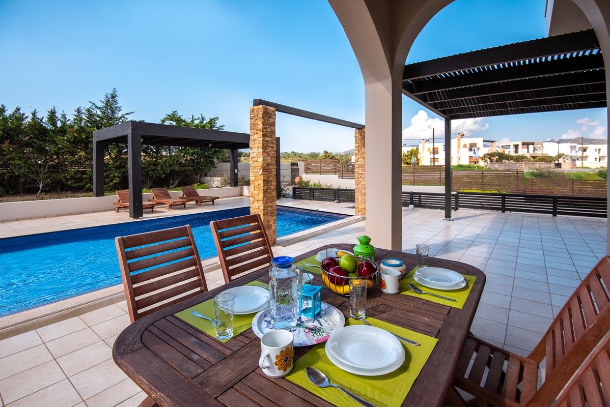 Rhodes Holidays Blue Wave Villa up to 10 Rhodes 2