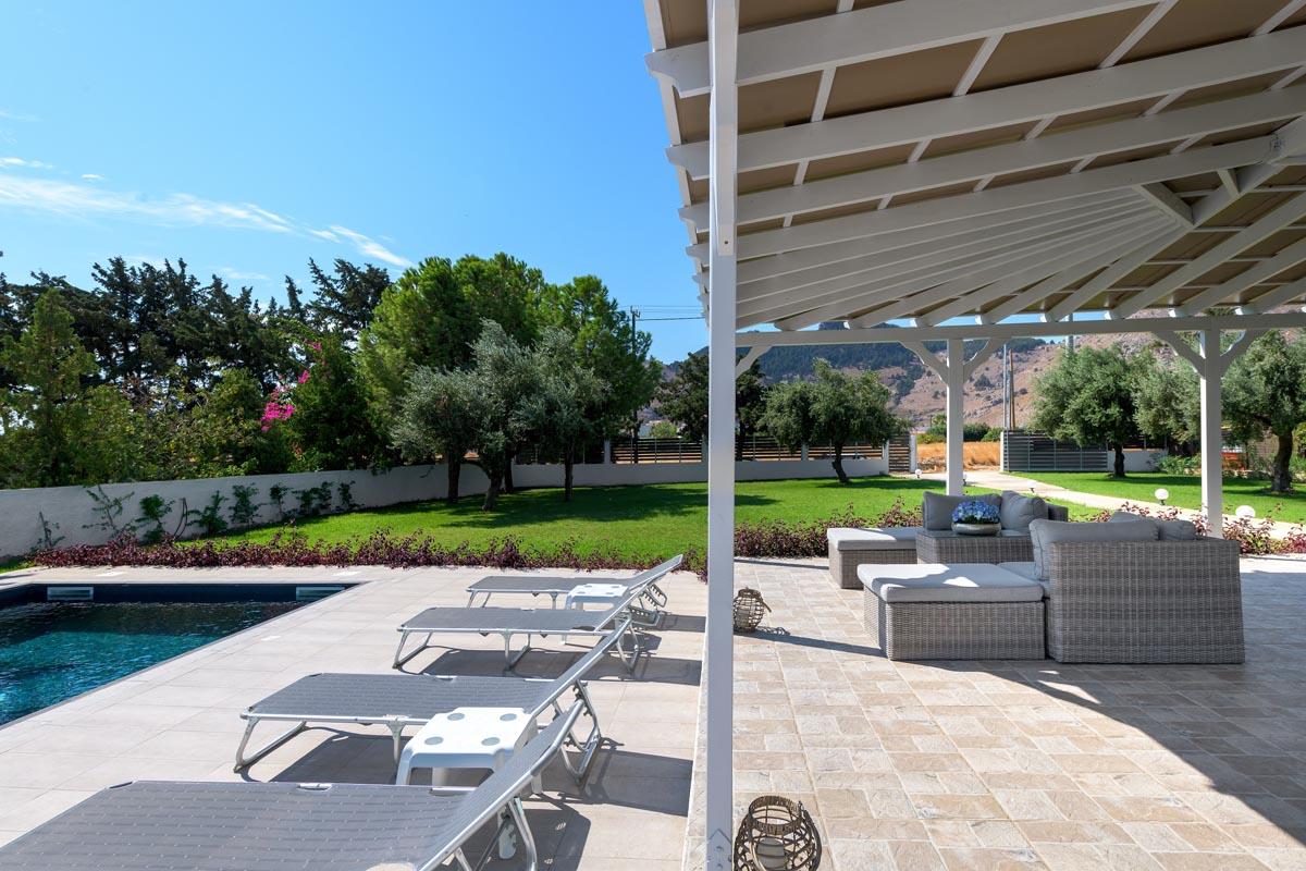 Rhodes Holidays Casa Bianca Villa Rhodes 19