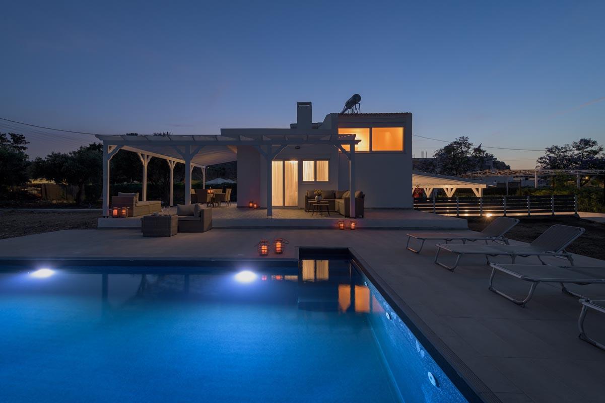 Rhodes Holidays Casa Bianca Villa Rhodes 28
