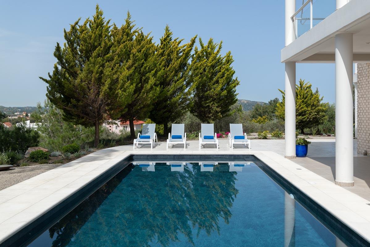 Rhodes Holidays Hill Top Luxury Villa Rhodes 2