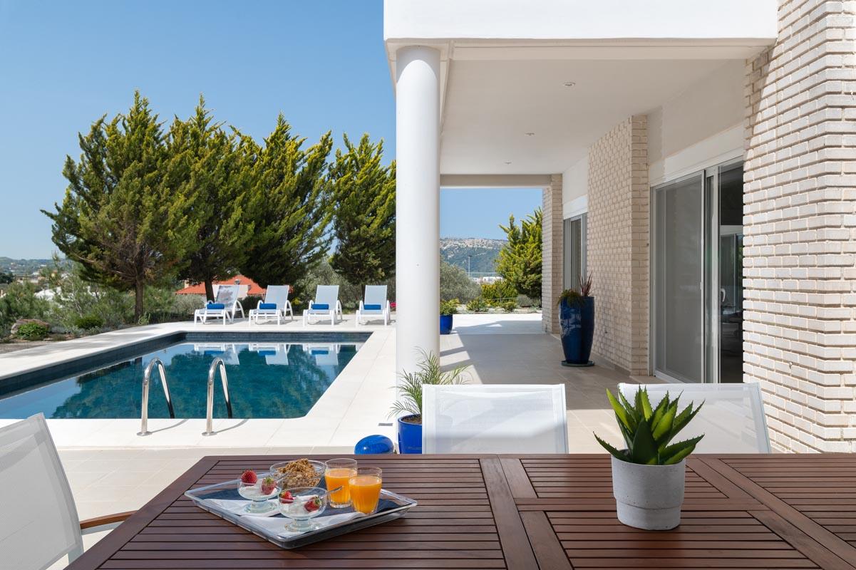 Rhodes Holidays Hill Top Luxury Villa Rhodes 28