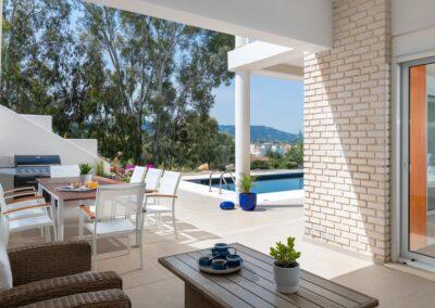 Rhodes Holidays Hill Top Luxury Villa Rhodes 29