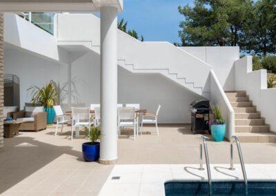 Rhodes Holidays Hill Top Luxury Villa Rhodes 32