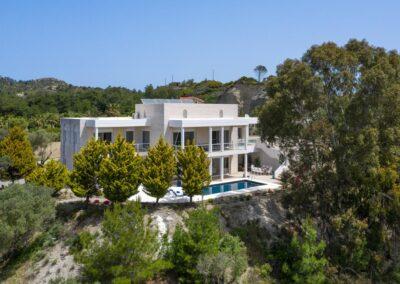 Rhodes Holidays Hill Top Luxury Villa Rhodes 36