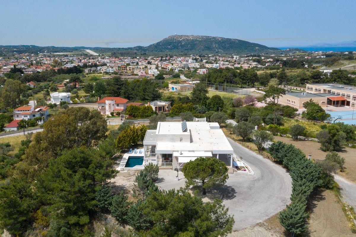 Rhodes Holidays Hill Top Luxury Villa Rhodes 37