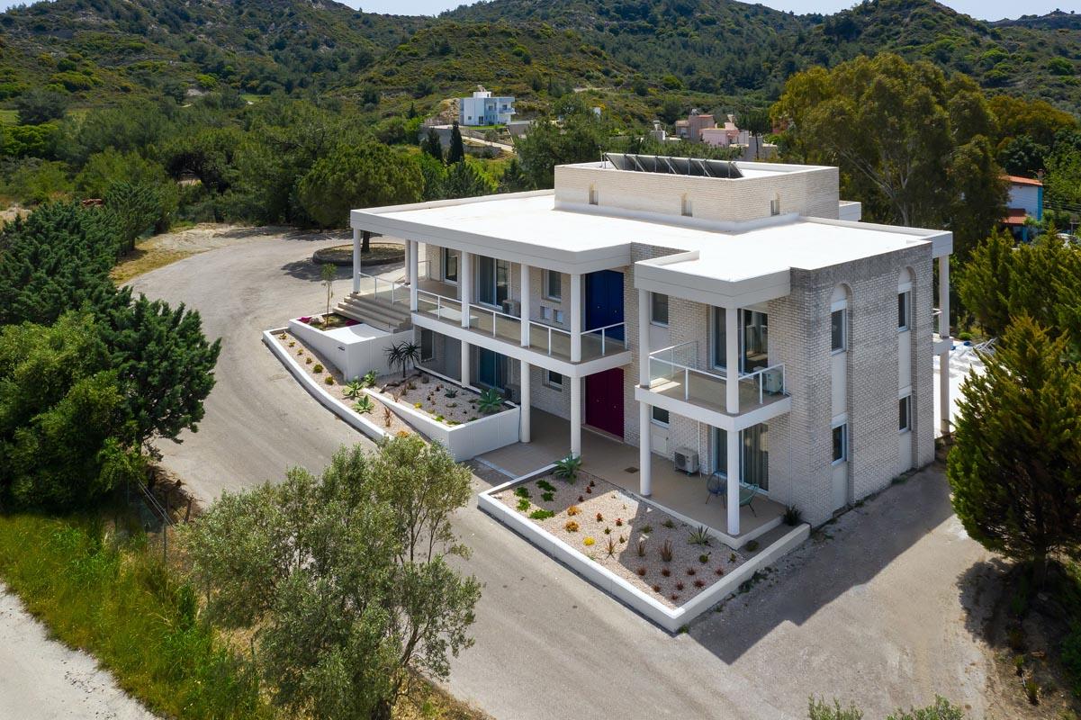 Rhodes Holidays Hill Top Luxury Villa Rhodes 38