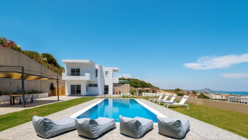 Rhodes Holidays Hill and sea View Villas Up to 8 Rhodes 1