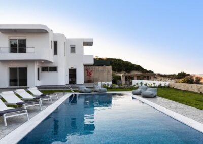 Rhodes Holidays Hill and sea View Villas Up to 8 Rhodes 21