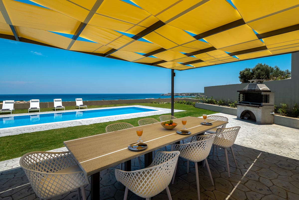 Rhodes Holidays Hill and sea View Villas Up to 8 Rhodes 24
