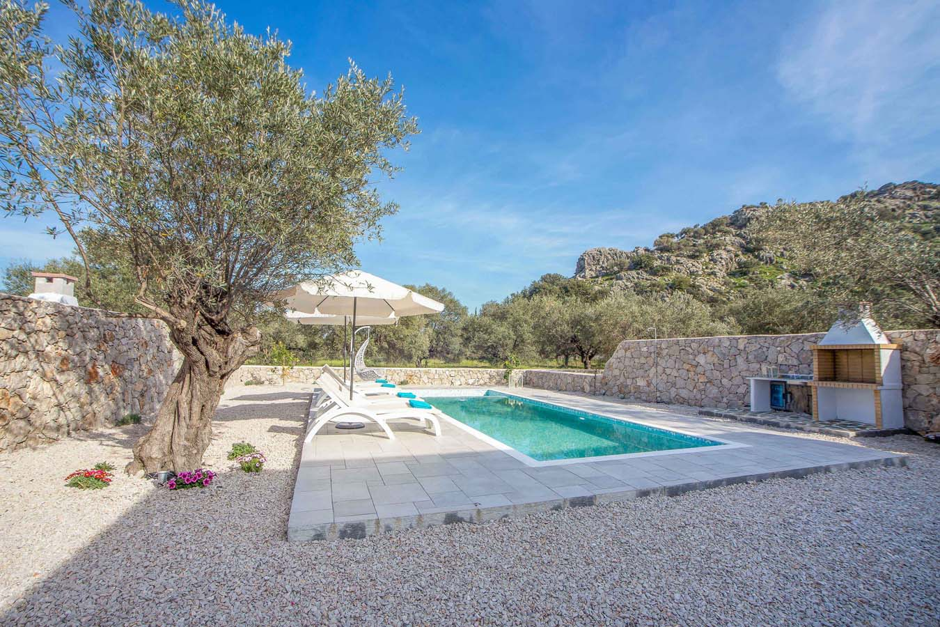 Rhodes Holidays Kalathos Dream Villas Blue Dream Rhodes 16