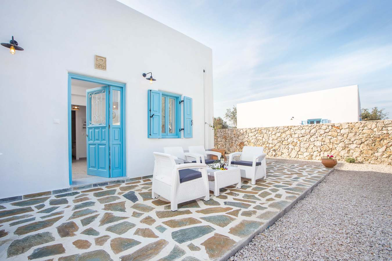 Rhodes Holidays Kalathos Dream Villas Blue Dream Rhodes 17