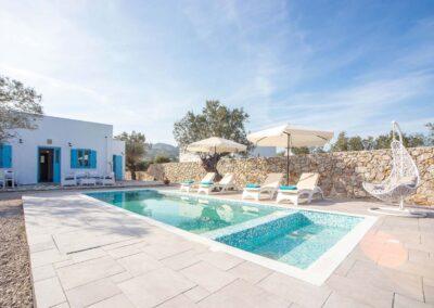 Rhodes Holidays Kalathos Dream Villas Blue Dream Rhodes 22