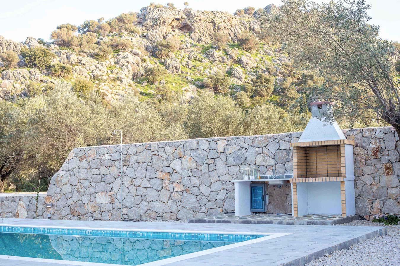 Rhodes Holidays Kalathos Dream Villas Blue Dream Rhodes 24