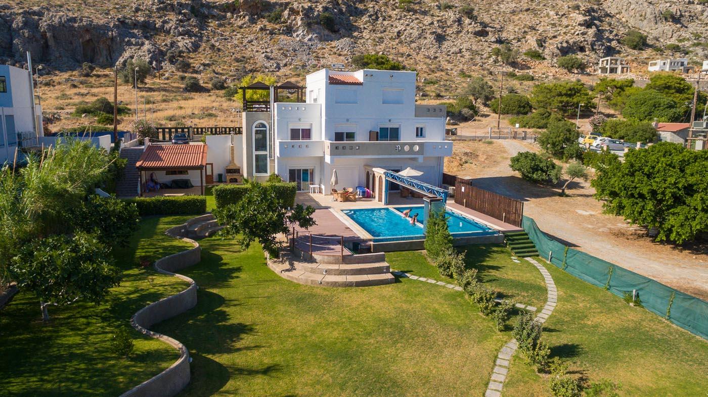 Rhodes Holidays Kivotos Villas 3rms Rhodes 1
