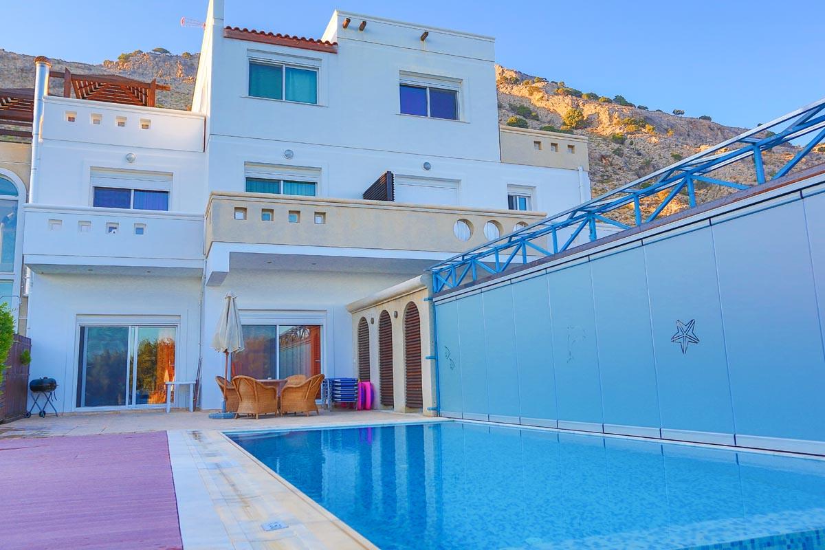 Rhodes Holidays Kivotos Villas 3rms Rhodes 2
