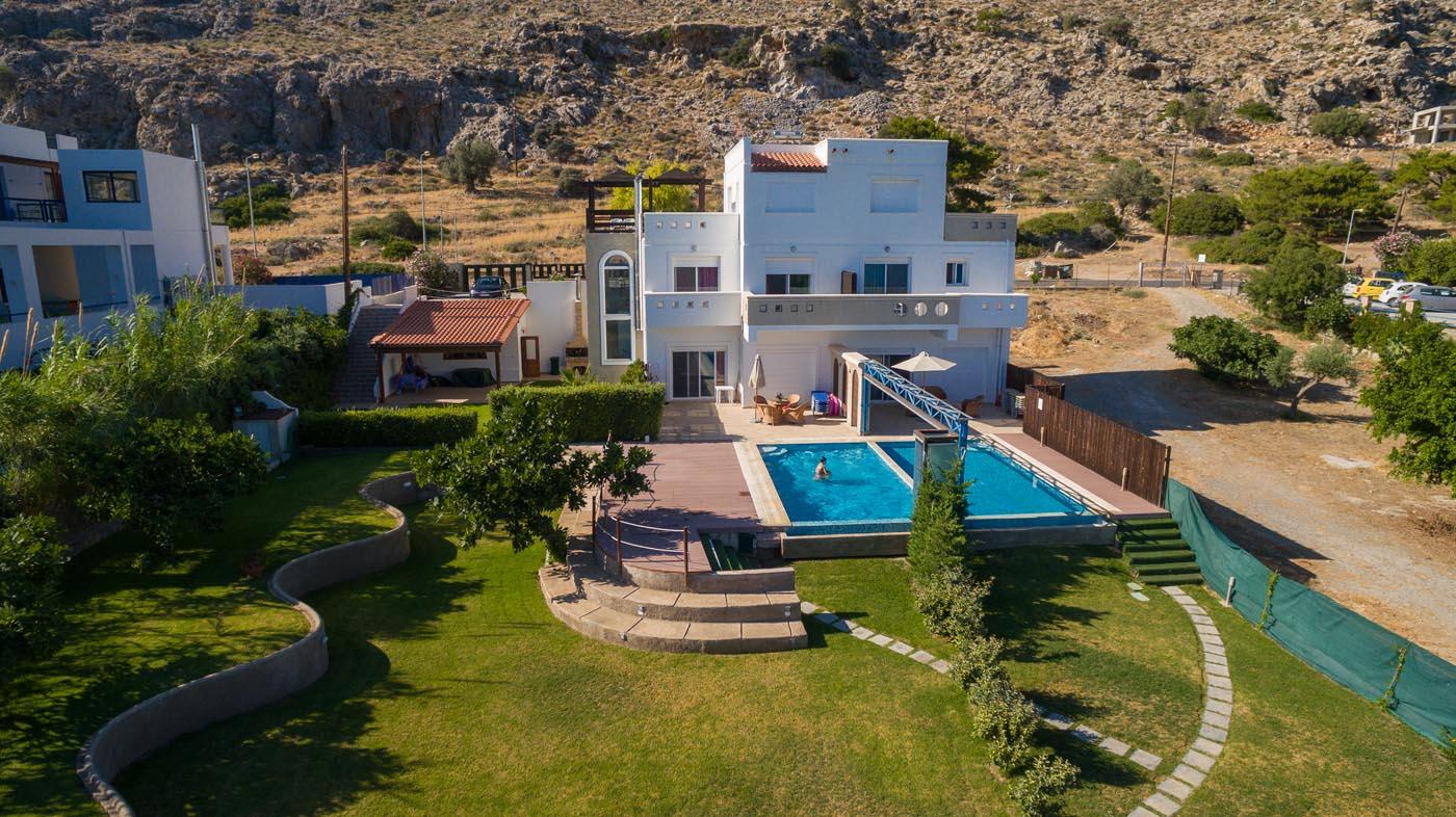 Rhodes Holidays Kivotos Villas 4rms Rhodes 2