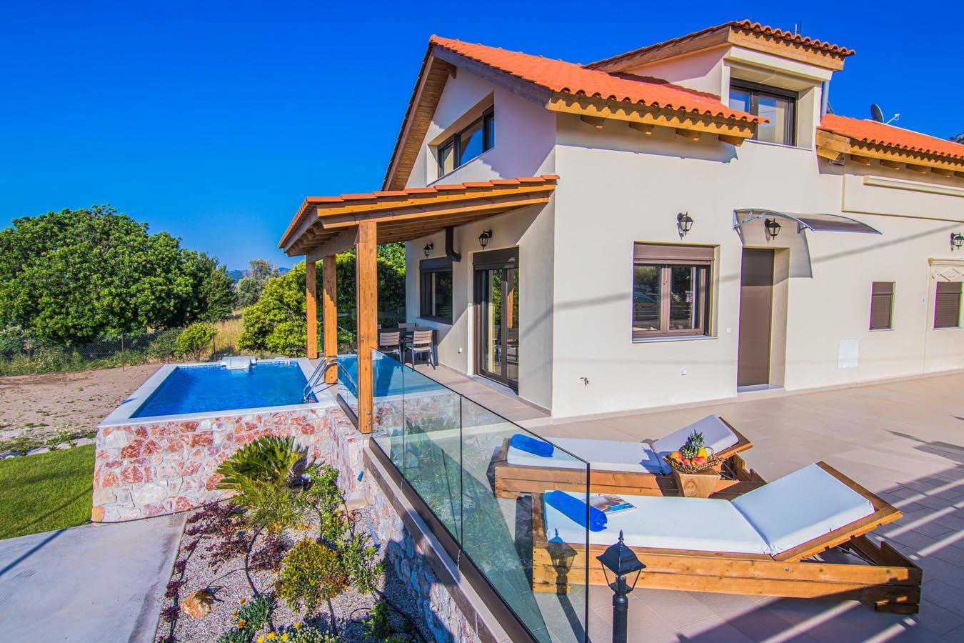 Rhodes Holidays Magical Salakos Villa 19