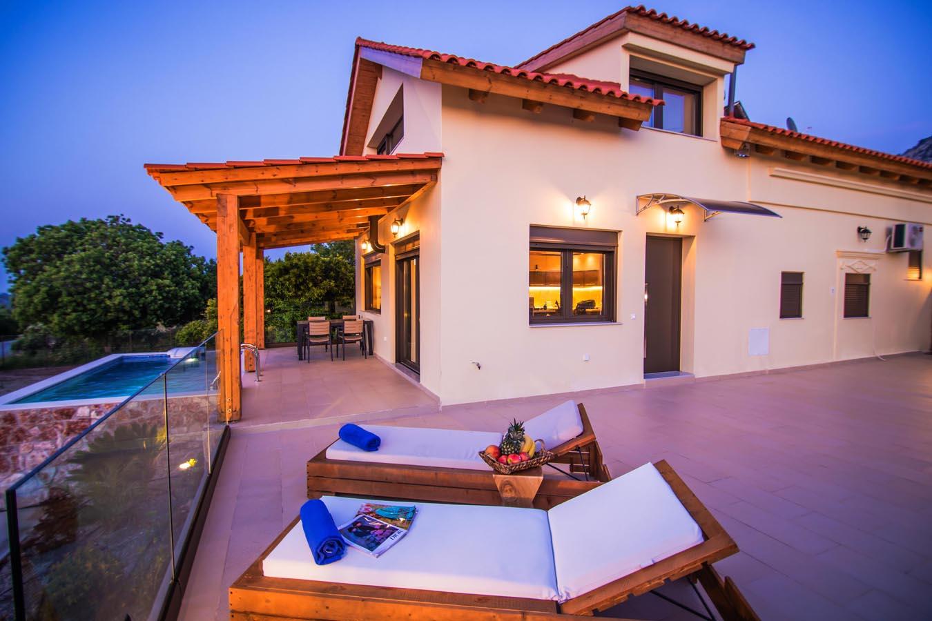 Rhodes Holidays Magical Salakos Villa 23