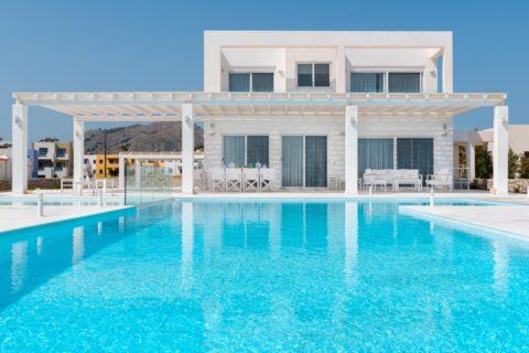 Rhodes Holidays Maria Beach Front Villa Rhodes 1