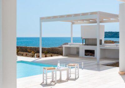 Rhodes Holidays Maria Beach Front Villa Rhodes 18