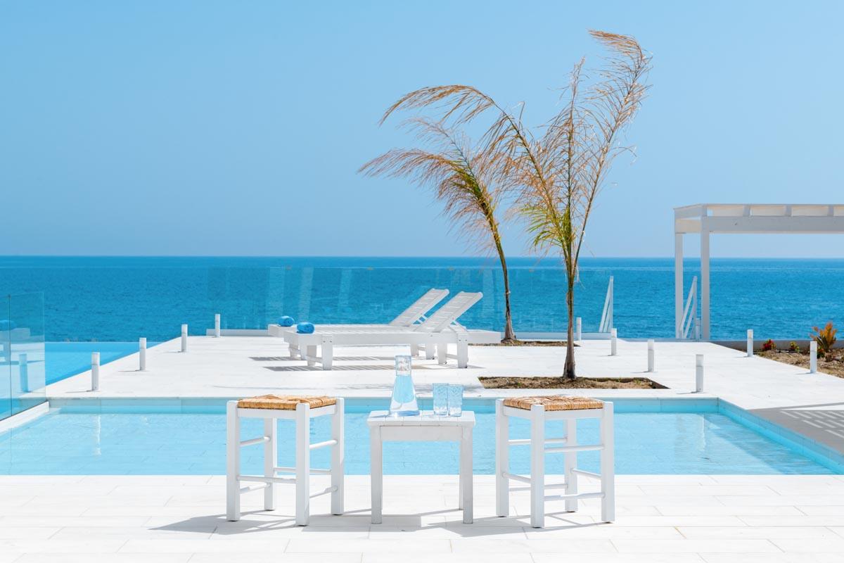 Rhodes Holidays Maria Beach Front Villa Rhodes 19