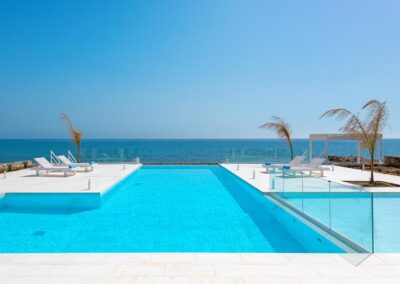 Rhodes Holidays Maria Beach Front Villa Rhodes 2