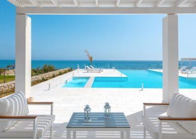 Rhodes Holidays Maria Beach Front Villa Rhodes 20