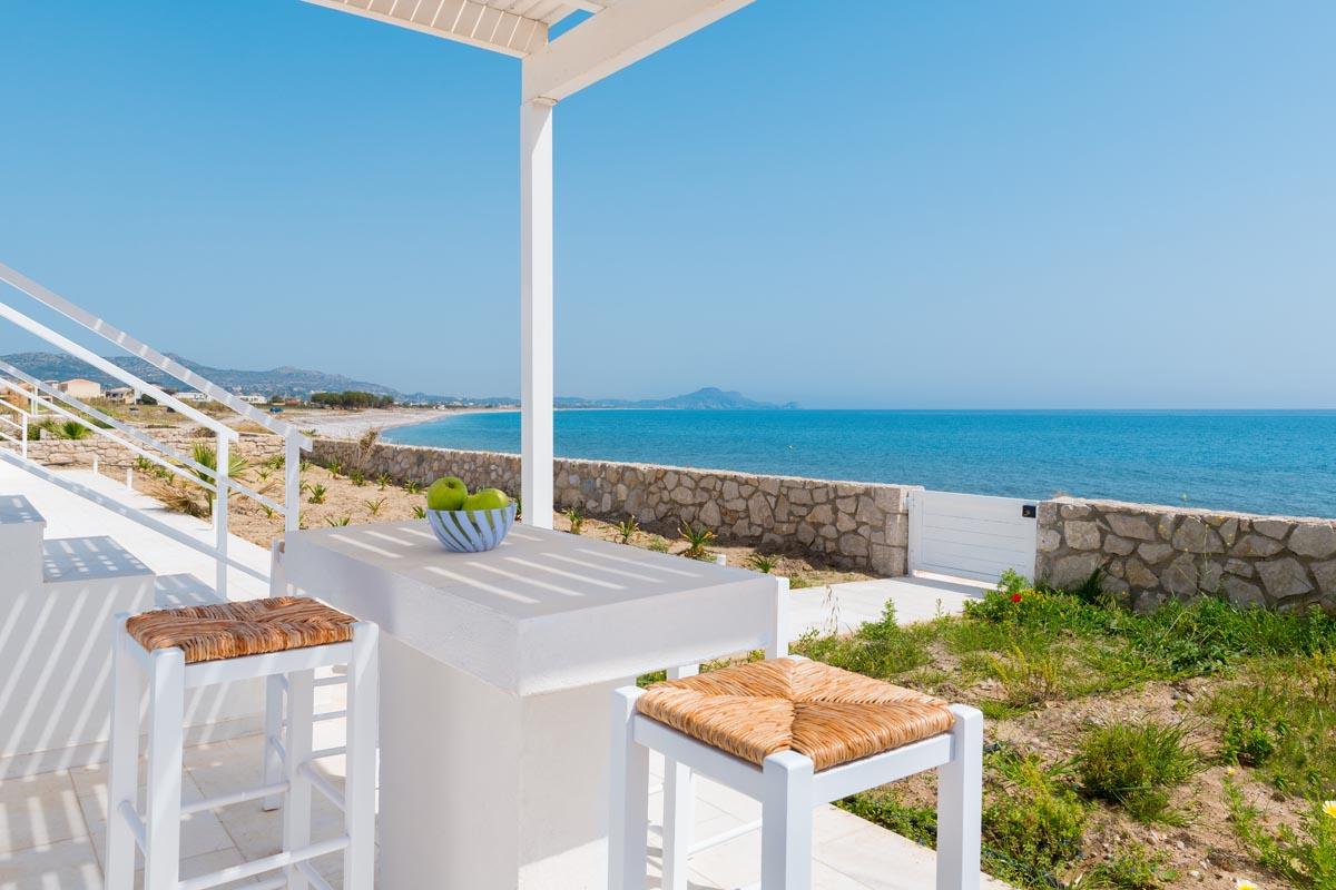 Rhodes Holidays Maria Beach Front Villa Rhodes 21