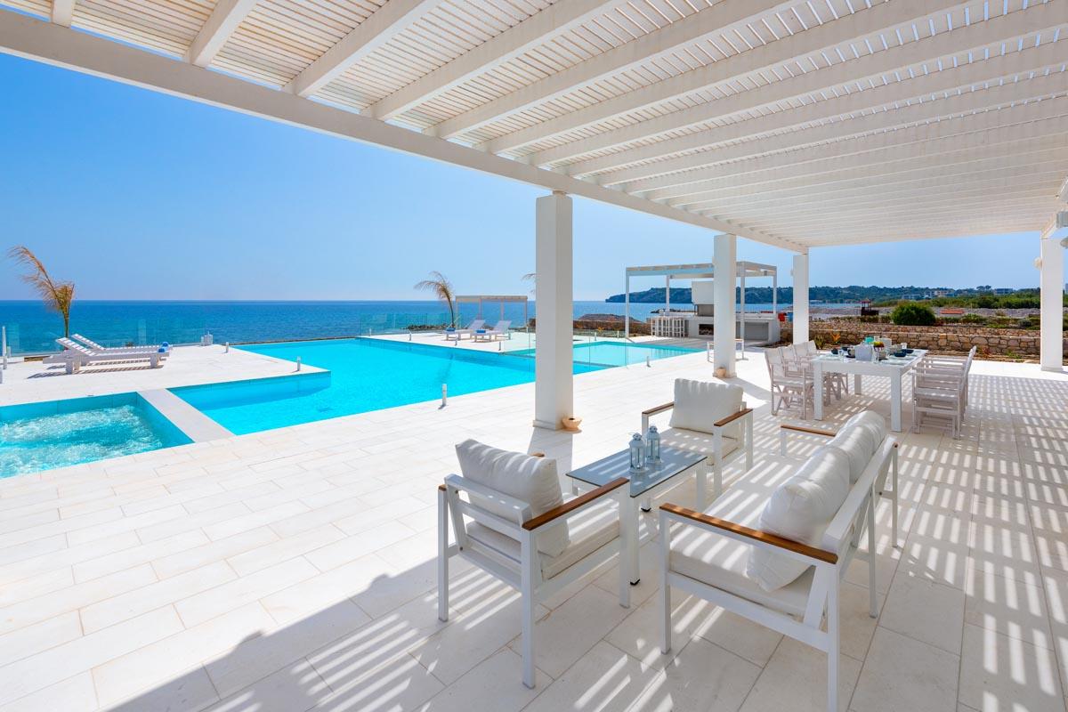 Rhodes Holidays Maria Beach Front Villa Rhodes 22