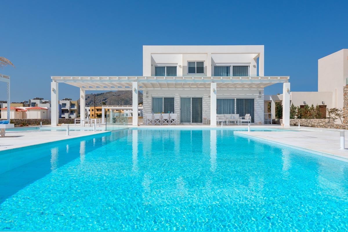 Rhodes Holidays Maria Beach Front Villa Rhodes 24