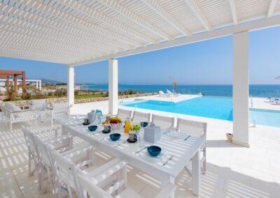 Rhodes Holidays Maria Beach Front Villa Rhodes 3