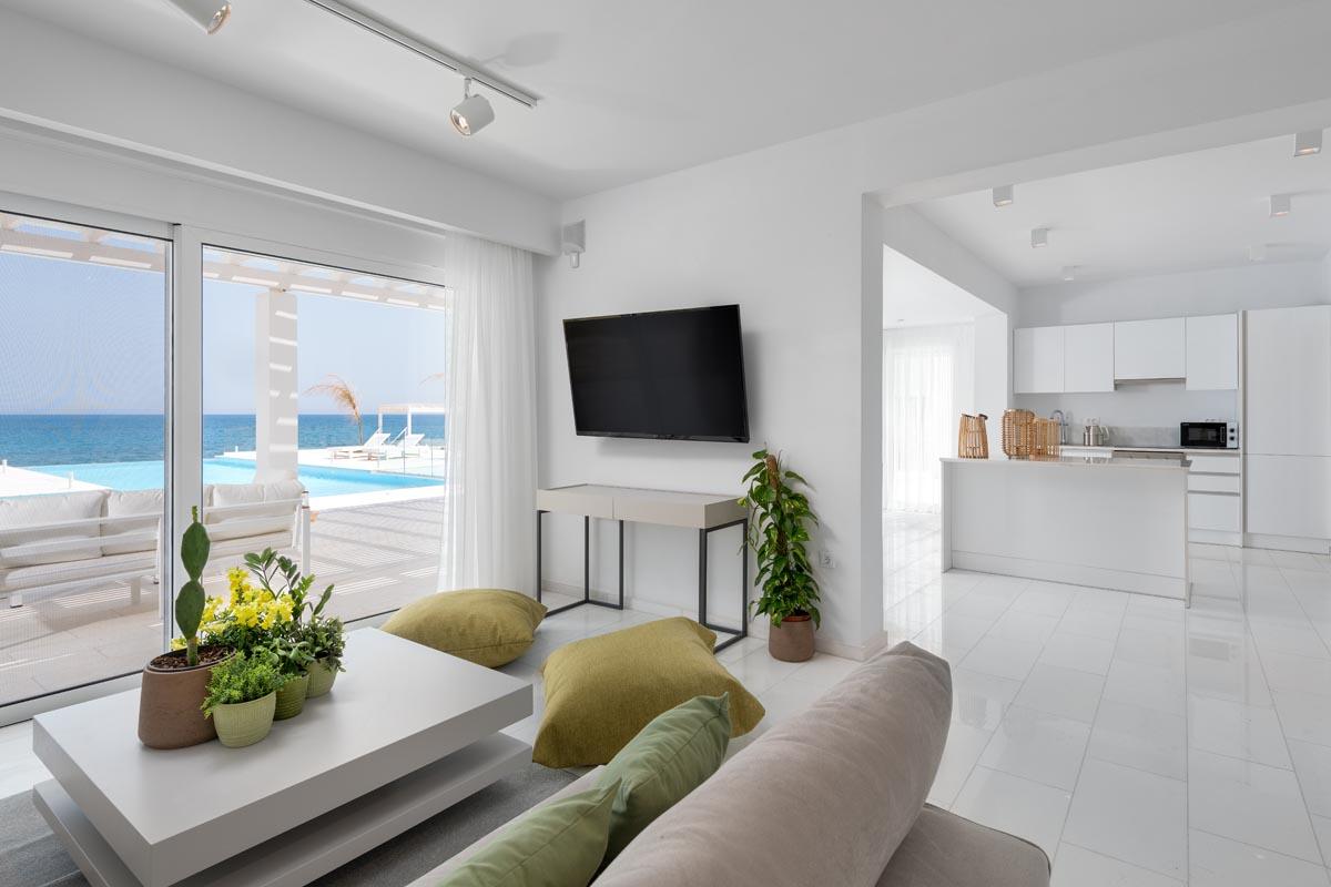 Rhodes Holidays Maria Beach Front Villa Rhodes 6