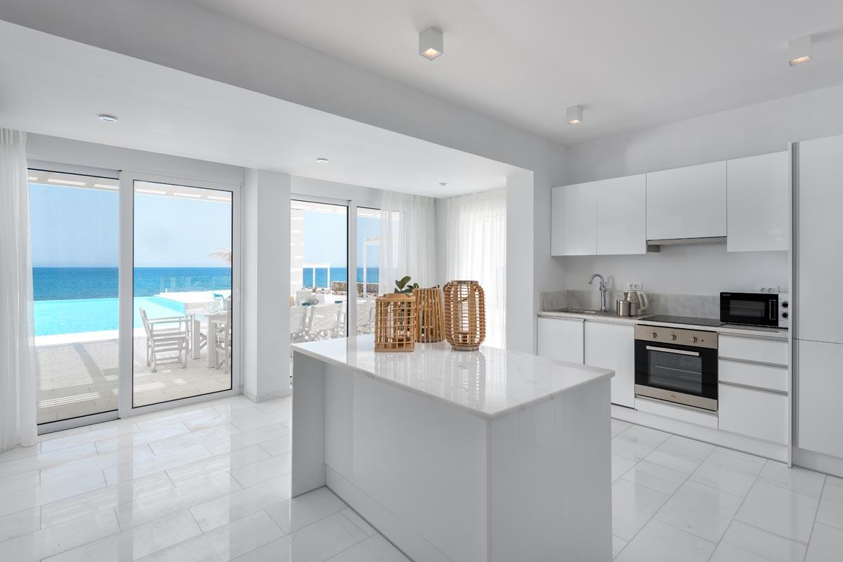 Rhodes Holidays Maria Beach Front Villa Rhodes 7