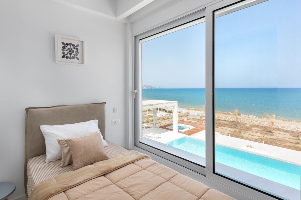 Rhodes Holidays Nada Beach Front Villa Rhodes 14