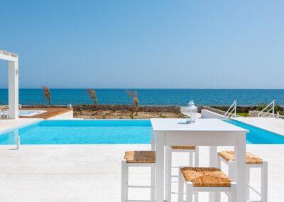 Rhodes Holidays Nada Beach Front Villa Rhodes 2