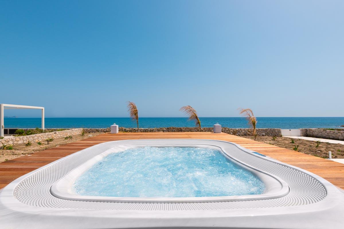 Rhodes Holidays Nada Beach Front Villa Rhodes 20