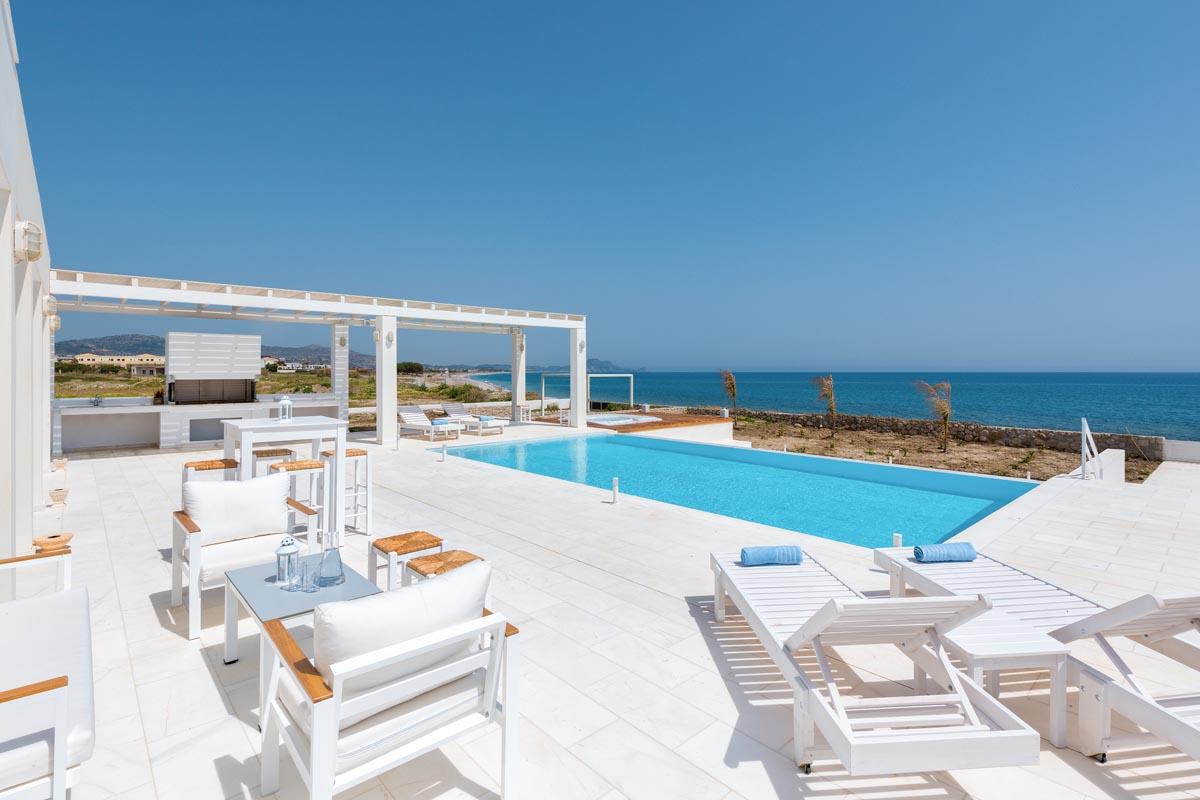 Rhodes Holidays Nada Beach Front Villa Rhodes 21
