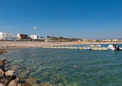 Rhodes Holidays Nada Beach Front Villa Rhodes 25