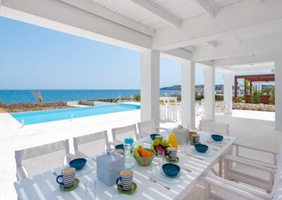 Rhodes Holidays Nada Beach Front Villa Rhodes 3